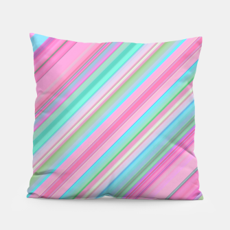 Sloping Lines Pillow miniature