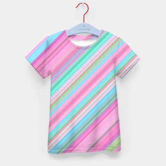 Sloping Lines Kid's t-shirt miniature