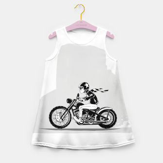 Thumbnail image of Road Trip Girl's summer dress, Live Heroes