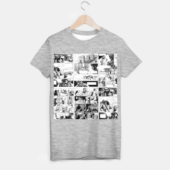 Thumbnail image of Comic T-shirt regular, Live Heroes