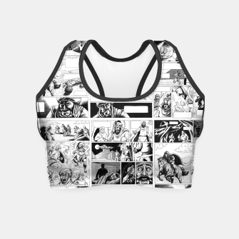 Thumbnail image of Comic Crop Top, Live Heroes
