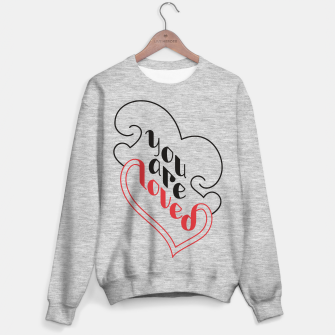 Miniatur You Are Loved | Motivational Lettering Design Sweater regular, Live Heroes