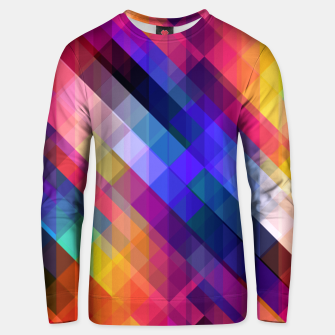 Thumbnail image of Geometric cubes Unisex sweater, Live Heroes