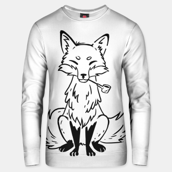 Thumbnail image of Mystic Fox Unisex sweater, Live Heroes