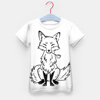 Thumbnail image of Mystic Fox Kid's t-shirt, Live Heroes