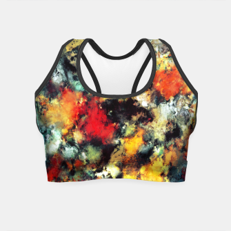 Thumbnail image of Distraction Crop Top, Live Heroes