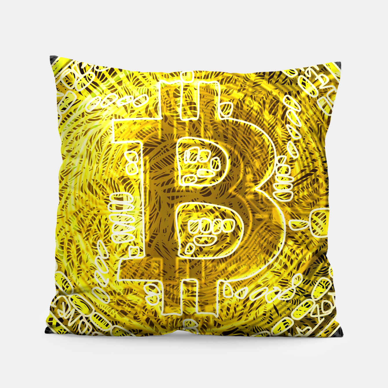 Image of bc Pillow - Live Heroes
