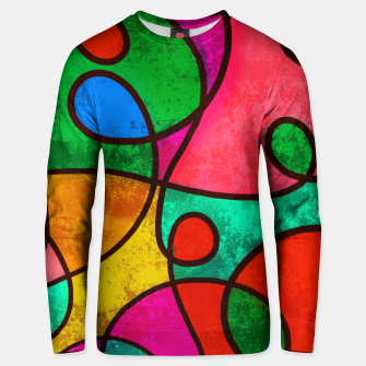 Thumbnail image of Abstract Lines Unisex sweater, Live Heroes