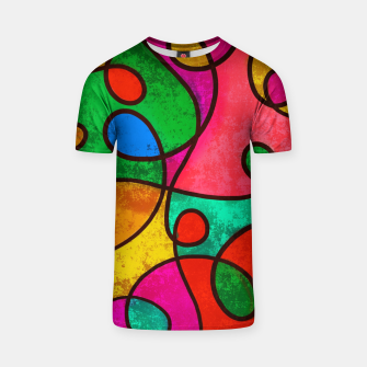 Thumbnail image of Abstract Lines T-shirt, Live Heroes
