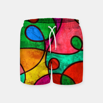 Thumbnail image of Abstract Lines Swim Shorts, Live Heroes