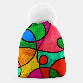 Thumbnail image of Abstract Lines Beanie, Live Heroes