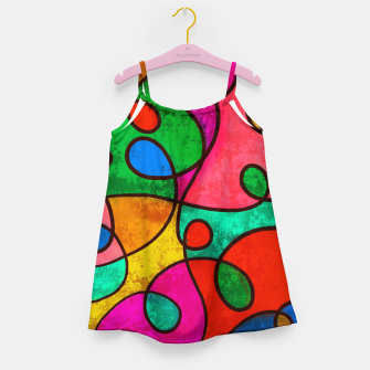 Thumbnail image of Abstract Lines Girl's dress, Live Heroes