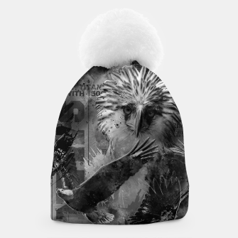 Thumbnail image of Eagles Fury Beanie, Live Heroes