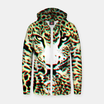 Thumbnail image of Leopard Tongue Hoodie, Live Heroes