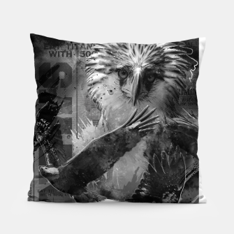 Thumbnail image of Eagles Fury Pillow, Live Heroes