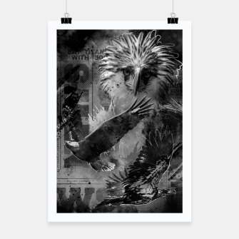 Thumbnail image of Eagles Fury Poster, Live Heroes