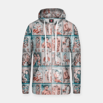 Miniaturka Asian Illustration Posters Collage Hoodie, Live Heroes