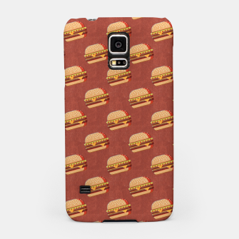 Thumbnail image of FAST FOOD / Burger - pattern Samsung Case, Live Heroes