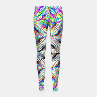 Thumbnail image of Seamless Pattern Girl's leggings, Live Heroes