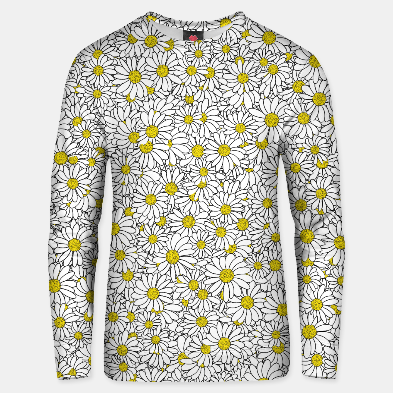 Image of Daisy Doodle Pattern Unisex sweater - Live Heroes