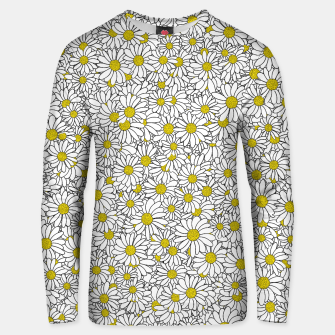 Miniatur Daisy Doodle Pattern Unisex sweater, Live Heroes