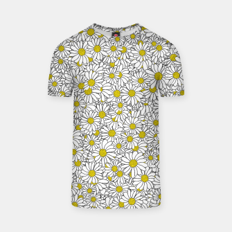 Thumbnail image of Daisy Doodle Pattern T-shirt, Live Heroes