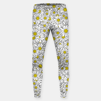 Thumbnail image of Daisy Doodle Pattern Sweatpants, Live Heroes