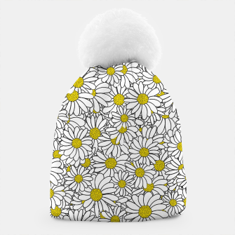 Miniatur Daisy Doodle Pattern Beanie, Live Heroes