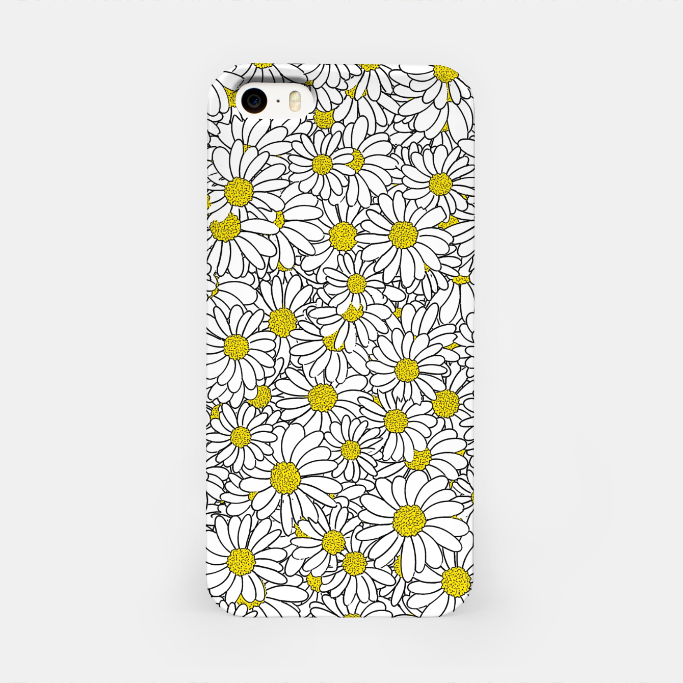 Image of Daisy Doodle Pattern iPhone Case - Live Heroes