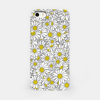 Daisy Doodle Pattern iPhone Case thumbnail image