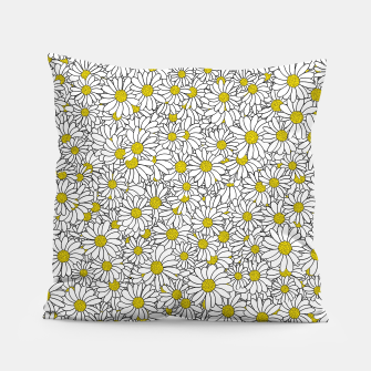 Thumbnail image of Daisy Doodle Pattern Pillow, Live Heroes