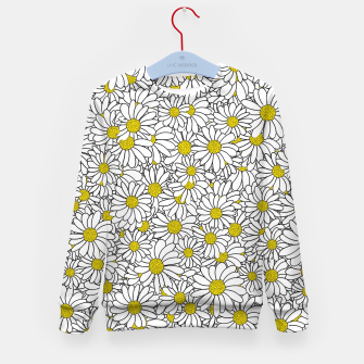 Thumbnail image of Daisy Doodle Pattern Kid's sweater, Live Heroes