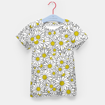 Miniatur Daisy Doodle Pattern Kid's t-shirt, Live Heroes