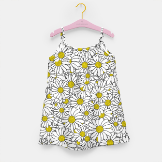 Miniatur Daisy Doodle Pattern Girl's dress, Live Heroes