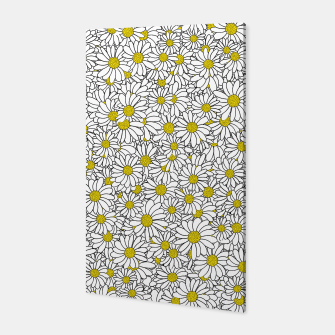 Thumbnail image of Daisy Doodle Pattern Canvas, Live Heroes