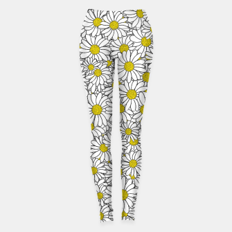 Thumbnail image of Daisy Doodle Pattern Leggings, Live Heroes