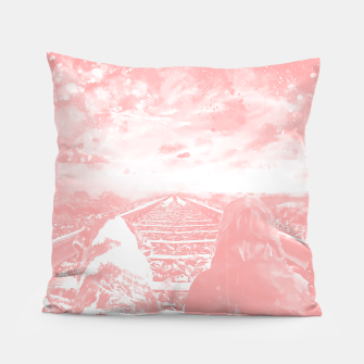 Thumbnail image of wanderlust wswp Pillow, Live Heroes