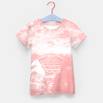 Thumbnail image of wanderlust wswp Kid's t-shirt, Live Heroes