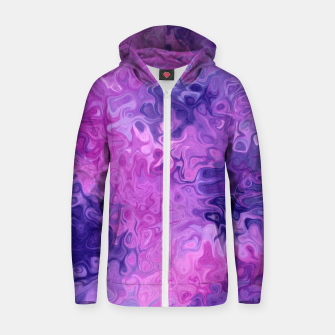 Thumbnail image of Twists and Turns Zip up hoodie, Live Heroes