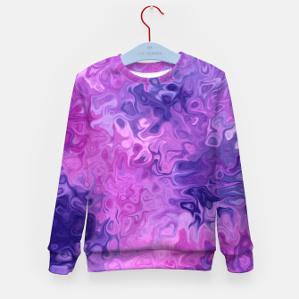 Thumbnail image of Twists and Turns Kid's sweater, Live Heroes