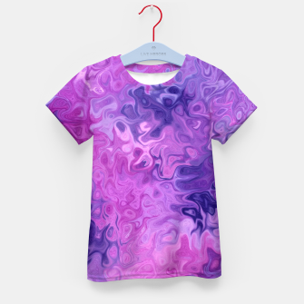 Thumbnail image of Twists and Turns Kid's t-shirt, Live Heroes