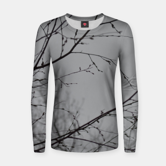 Miniatur Branches impressions Women sweater, Live Heroes