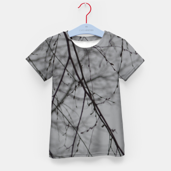 Miniatur Branches impressions Kid's t-shirt, Live Heroes