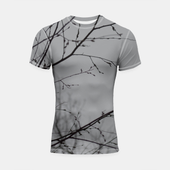 Miniatur Branches impressions Shortsleeve rashguard, Live Heroes