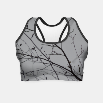 Miniatur Branches impressions Crop Top, Live Heroes