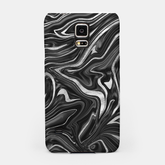 Thumbnail image of Black Gray White Silver Marble #1 #decor #art  Handyhülle für Samsung, Live Heroes