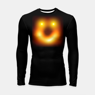 Thumbnail image of Happy Black Hole Longsleeve rashguard , Live Heroes