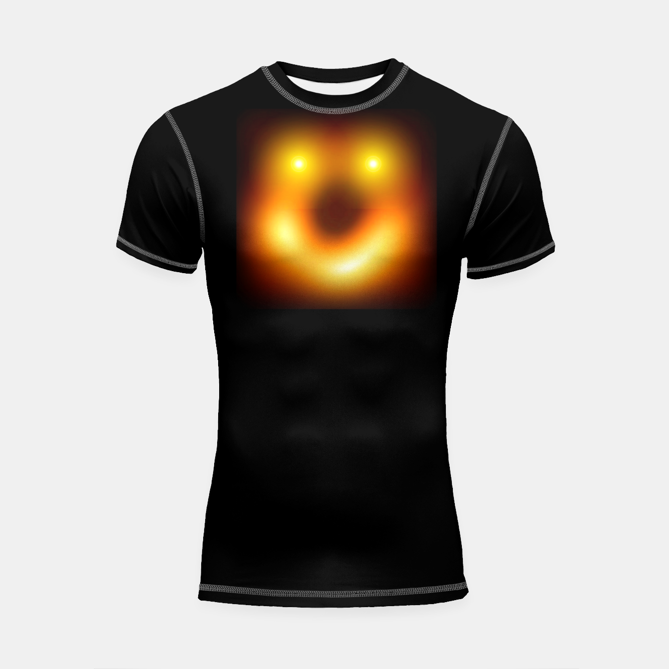 Image of Happy Black Hole Shortsleeve rashguard - Live Heroes