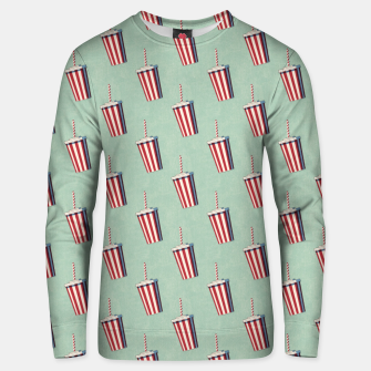 Thumbnail image of FAST FOOD / Softdrink - pattern Unisex sweater, Live Heroes