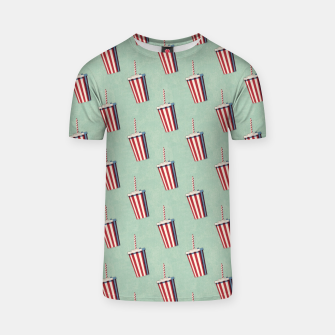 Thumbnail image of FAST FOOD / Softdrink - pattern T-shirt, Live Heroes